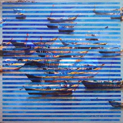 Fishing boat fleet, Vietnam